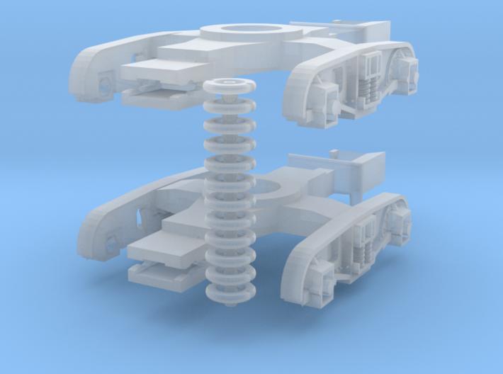 Plateback_Bogies_for_ICI_hopper 3d printed