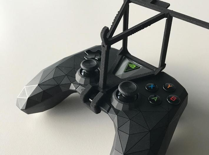 NVIDIA SHIELD 2017 controller & LG X power - Over  3d printed SHIELD 2017 - Over the top - barebones