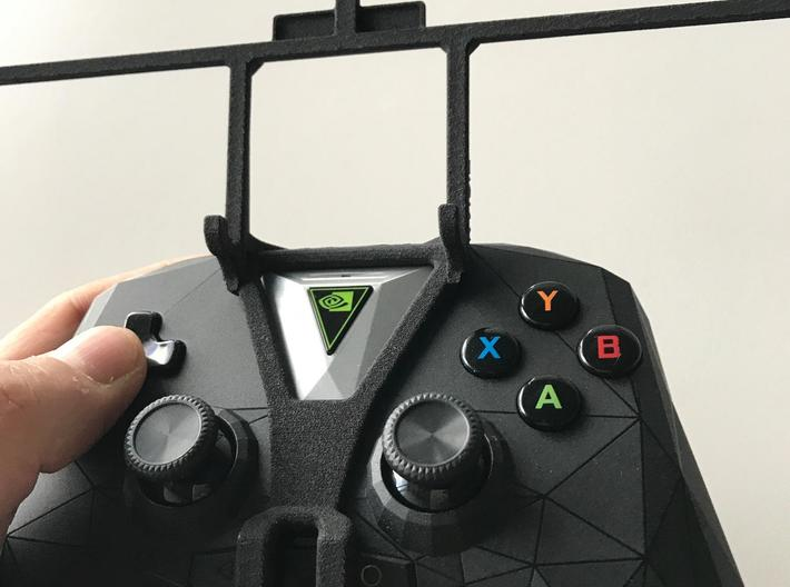 NVIDIA SHIELD 2017 controller & BLU Neo X - Front  3d printed SHIELD 2017 - Front rider - barebones
