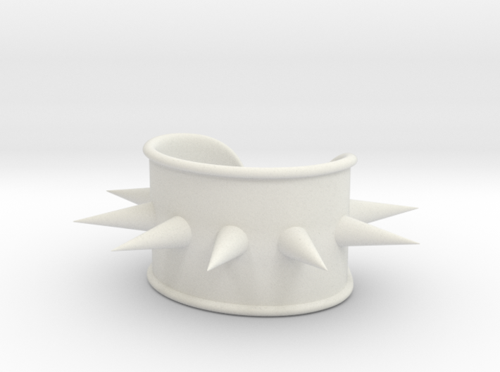 Spike Cosplay Cuff 3d printed