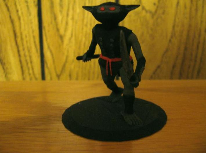Goblin Ninja 3d printed A picture of this figure painted