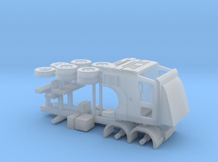 N Gauge Axor C 6x4 Lorry Kit Hi Top 3d printed