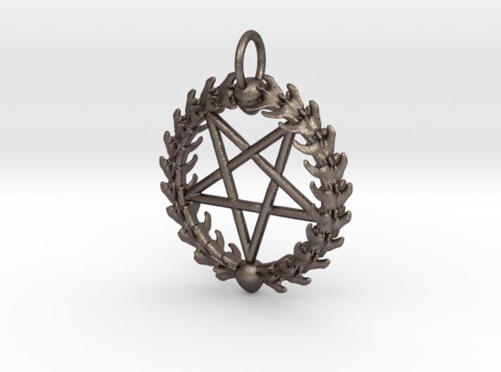 Stian's Pentagram 3d printed