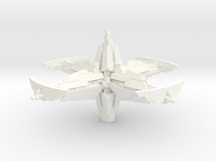 Space station (1-2 pcs) - Fleet Commander 3d printed