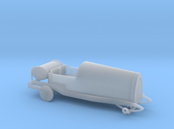 Bugatti Type 13 - 1/87 H0 3d printed