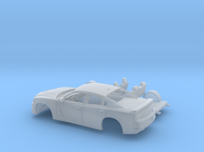 1/160 2012 Dodge Charger Kit 3d printed