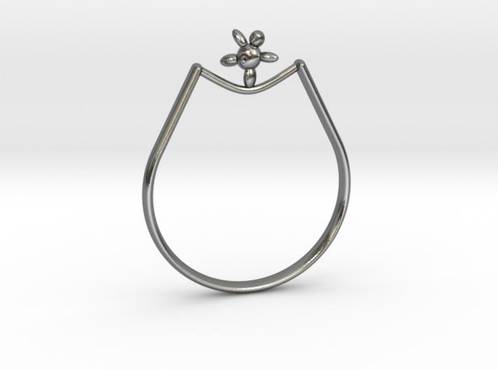 Rope walker Ring 3d printed