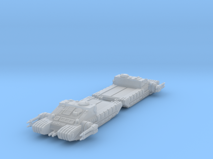 1/270 TX-225 GAVw 'Occupier' Tanks (Flatbed) (2) 3d printed