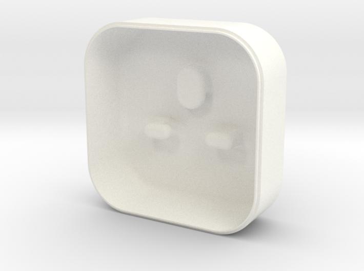 Lightning earphone case - Lid 3d printed