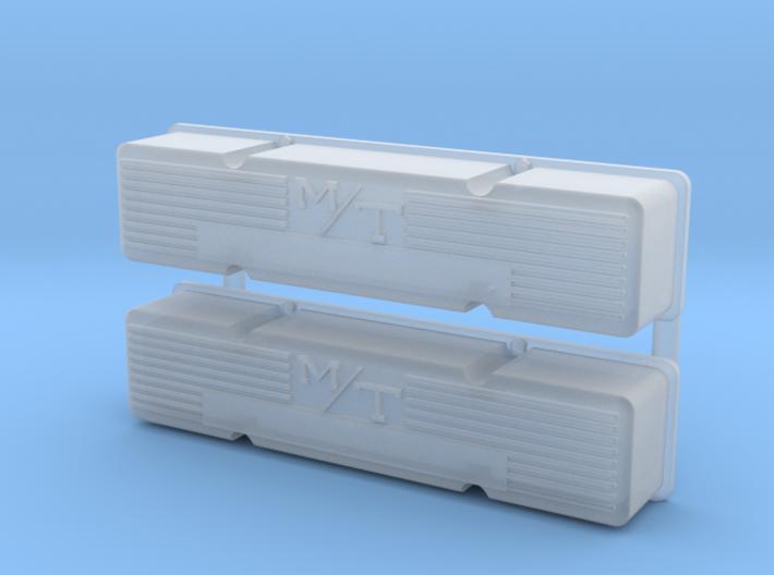 SBC 1/12 M/T valve cover set 3d printed