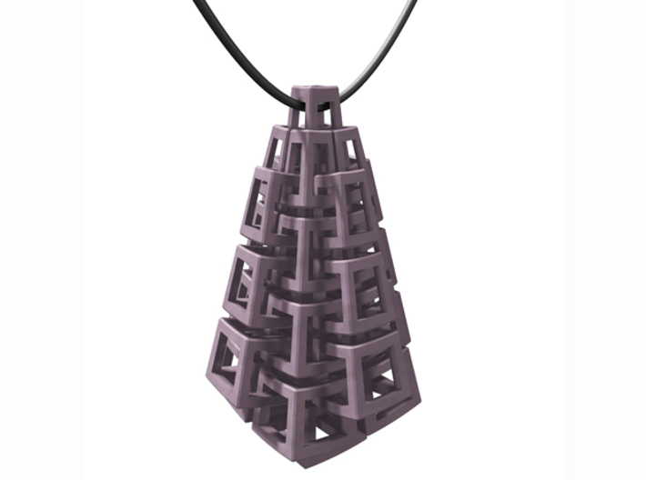 Kubus-hanger / Cubes pendant 3d printed necklace not included