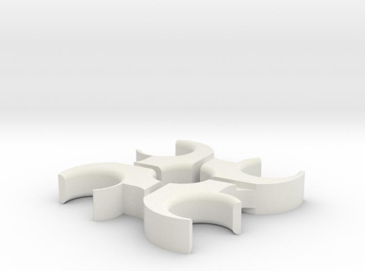 Hurricane Fidget Spinner 3d printed