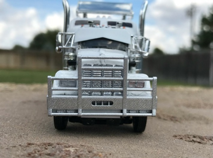 DCP Kenworth horizontal bar bumper 3d printed Bumper fitted to a DCP W900s