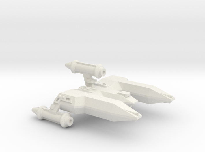 3125 Scale LDR War Destroyer (DW) CVN 3d printed