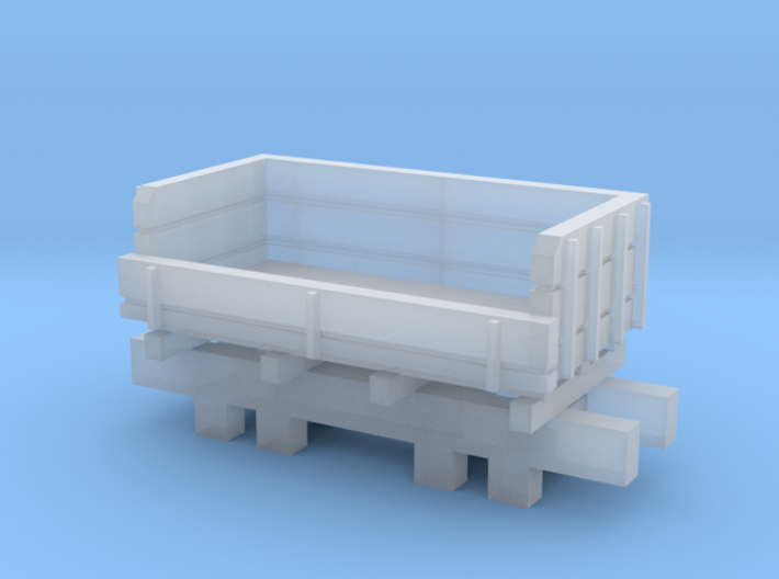 N Gauge Ballast Truck 3d printed
