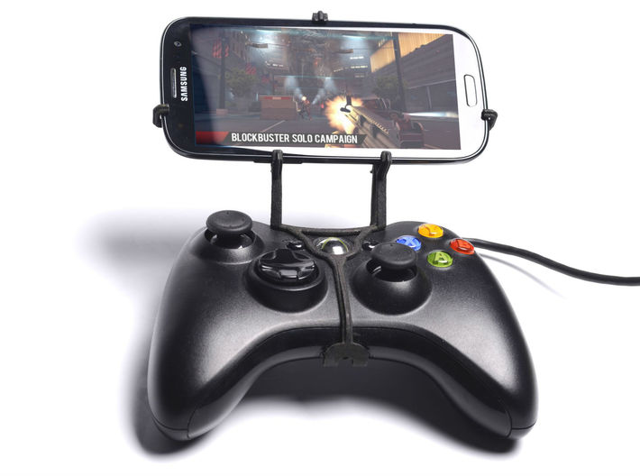 Xbox 360 controller & Samsung Galaxy Note FE - Fro 3d printed