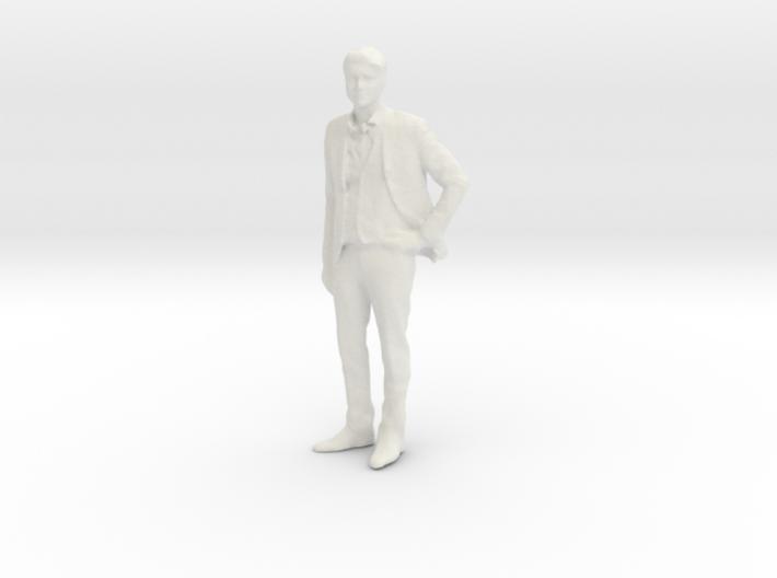 Printle F Homme Javier Bardem - 1/18 - wob 3d printed