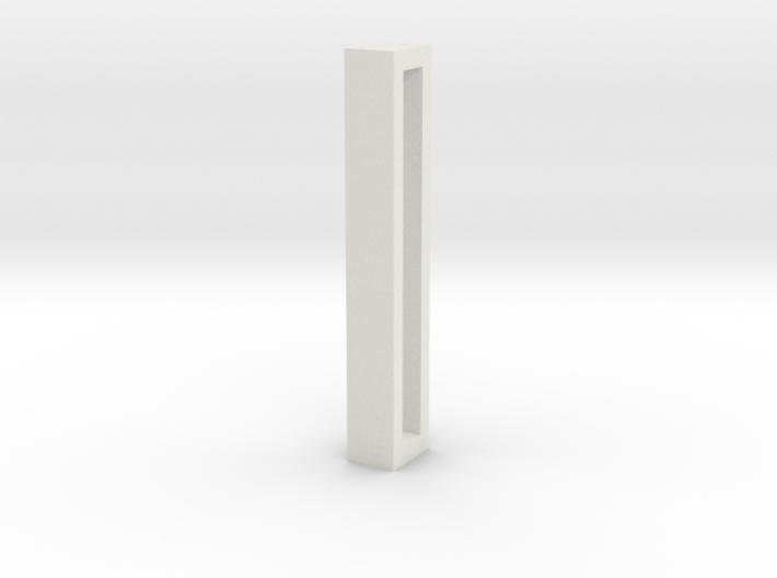 Choker Slide Letters (4cm) - Letter I 3d printed