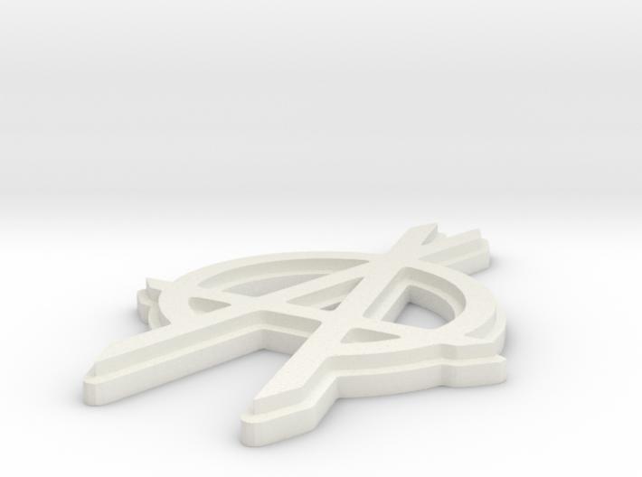 OPA fanart keychain 3d printed