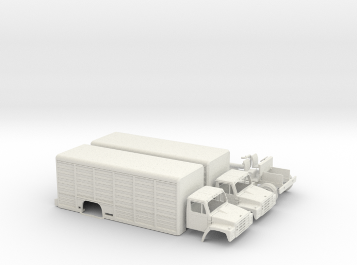 International S-series Beverage Truck 3d printed