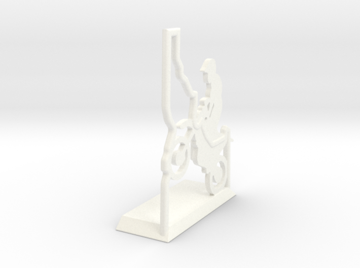 Idaho-Motorcyle-Picture-Holder 3d printed