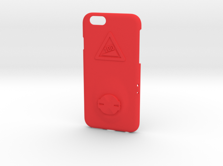 iPhone 6/6S Garmin Mount Case - Hill Climb 3d printed