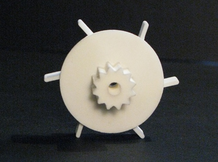 Tumbler Gear replacement 3d printed Actual product image