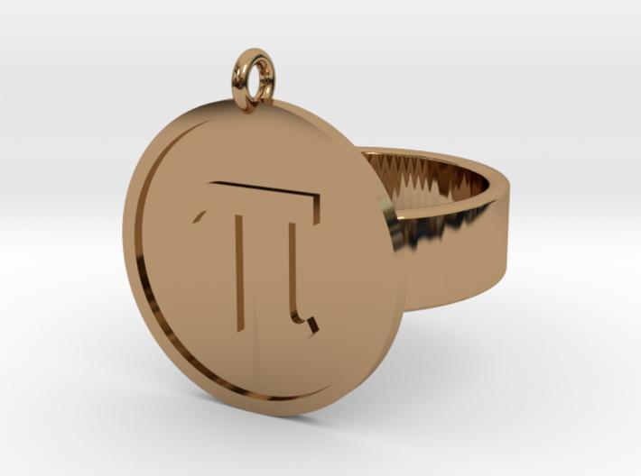 Pi Ring 3d printed