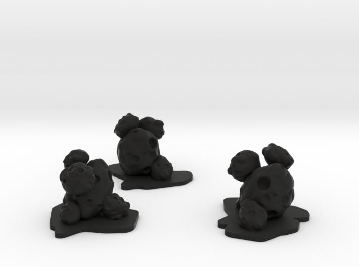Asteroid Pack 3d printed