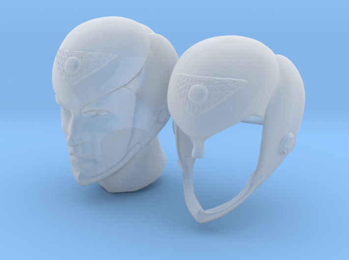 romulan helmets 1:6 scale 3d printed