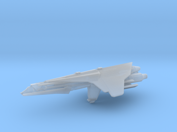 Nebulon-C Attack Frigate 90mm 3d printed