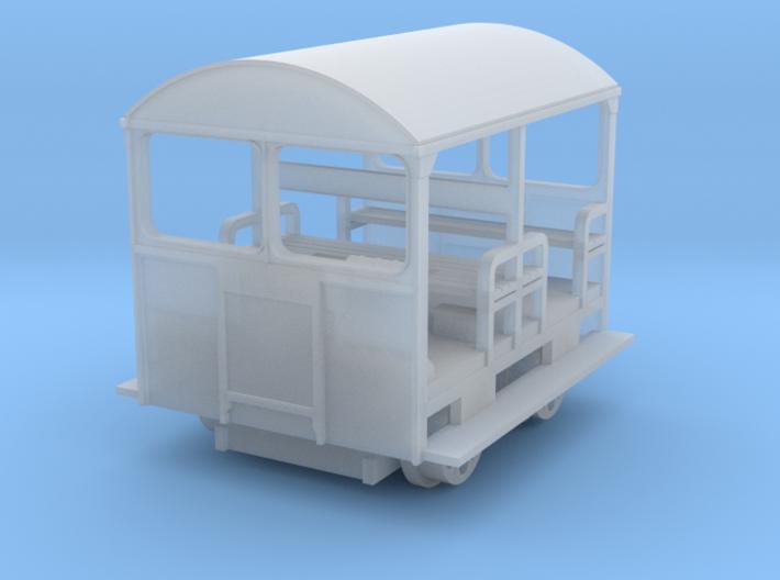 Wickham Trolley Car UPDATE OO 3d printed