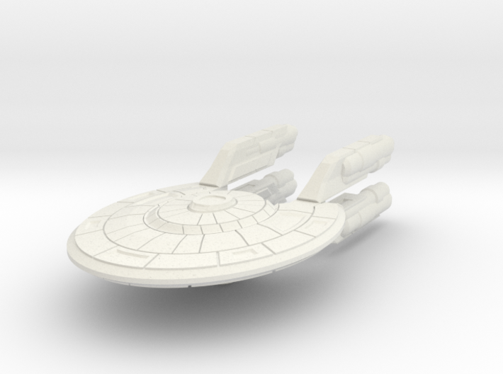 Colonial Fast Corvette (no Turrets) 3d printed
