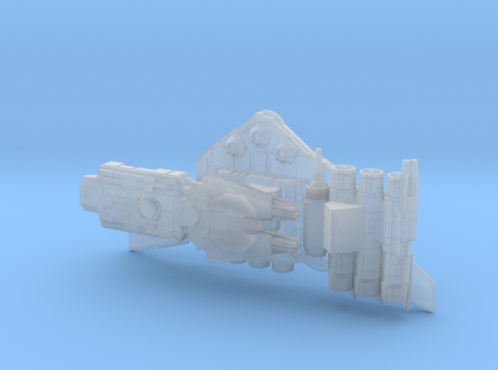 Nebulon Ranger (2.5 in Long) 3d printed