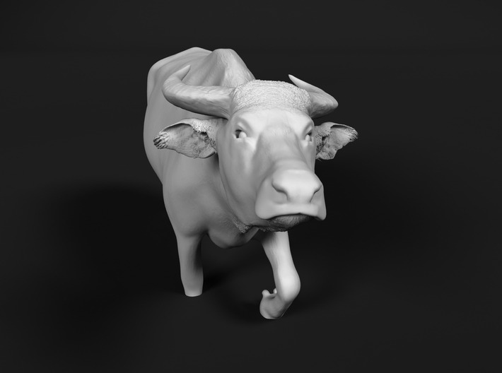 Domestic Asian Water Buffalo 1:48 Walks in Water 3d printed
