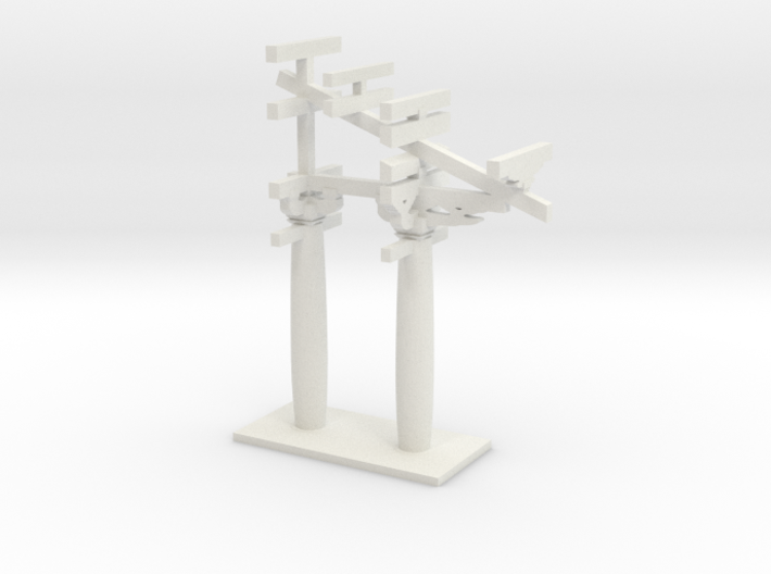 The local structure of the pagoda 3d printed