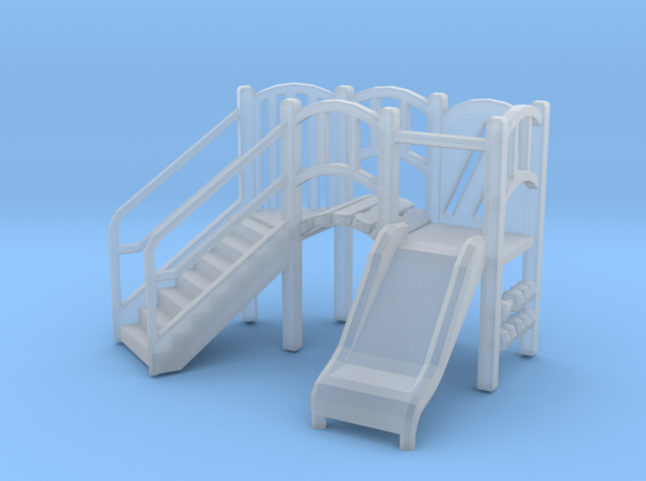 Playground Equipment 01. 1:76 Scale 3d printed