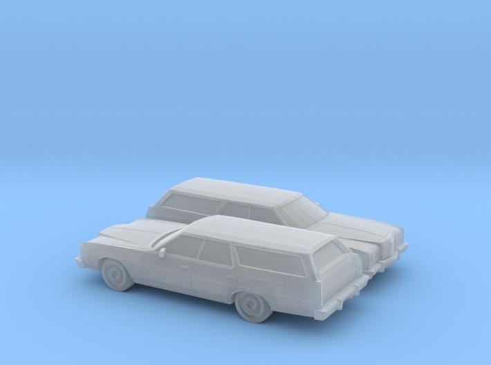 1/160 2X 1974 Ford LTD Station Wagon 3d printed