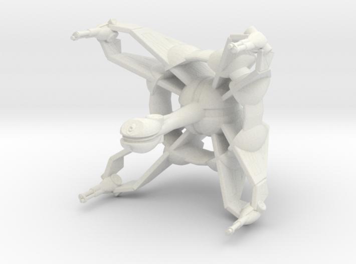 Star Sailers - Qud - Frigate 3d printed