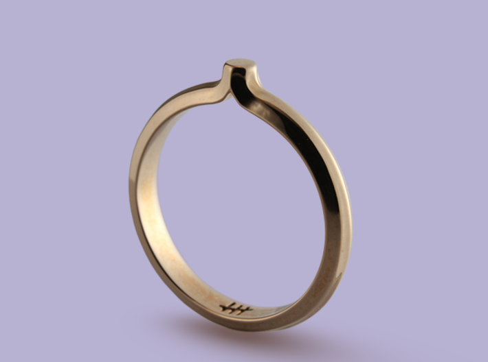 Shapesweeper Octagonal Basic Ring 3d printed