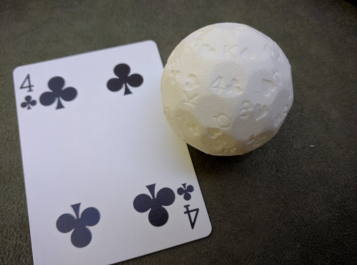 """d52 """"Cardistry"""" (Playing Card Selecter) 3d printed"""
