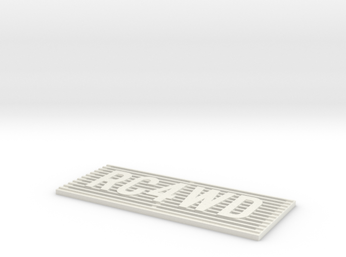 RC4WD D90/D110 Grill 3d printed
