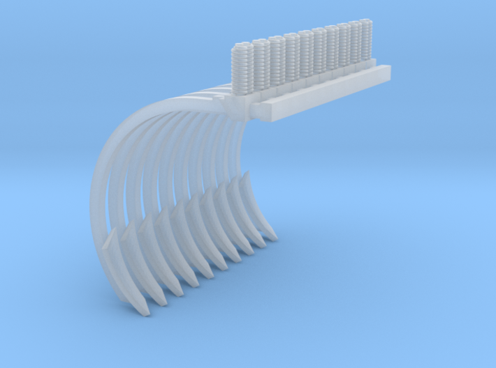 Chisel Plow Shank Vertical Spring Twisted Shovel 1 3d printed