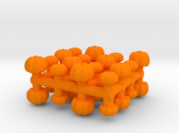 1/87 Scale Pumpkins x32 3d printed