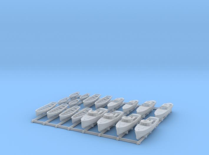 1/350 DKM Bismarck Boat Set 3d printed
