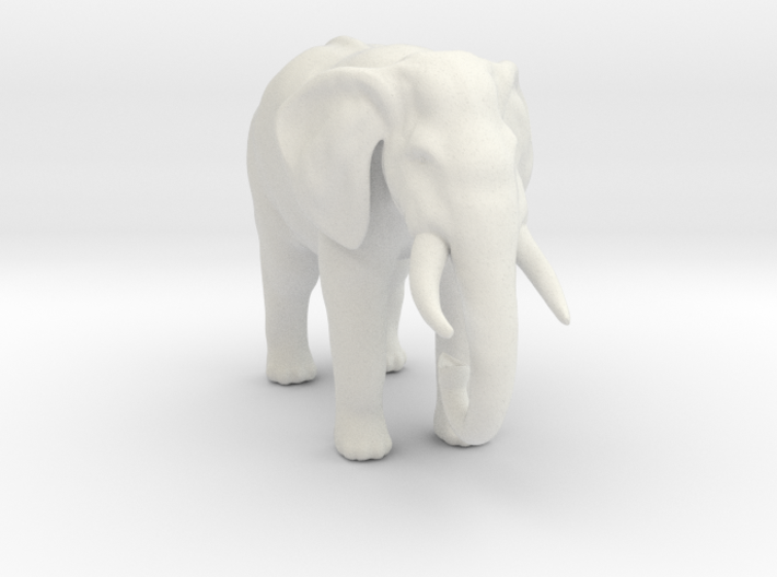 Printle Thing Elephant - 1/24 3d printed