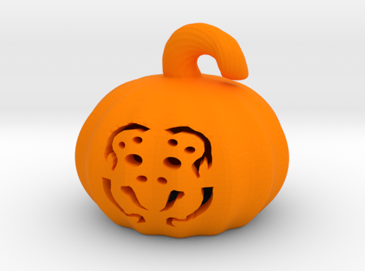 Spider Pumpkin 3d printed