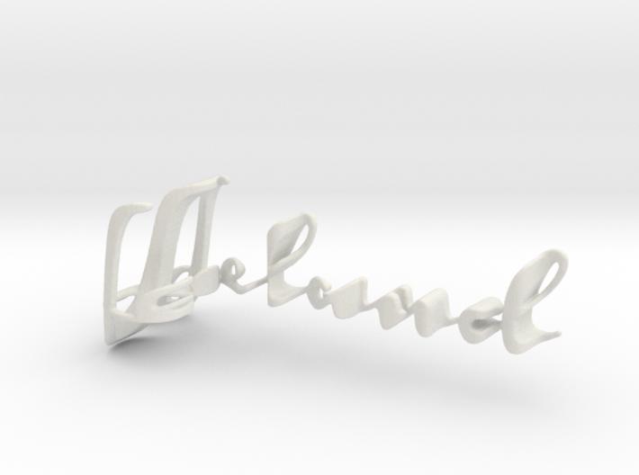 3dWordFlip: Leland/Susan 3d printed