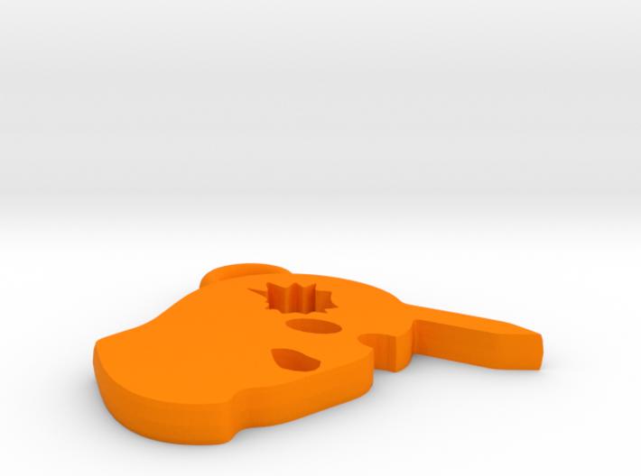 Counter-Strike Headshot Charm 3d printed