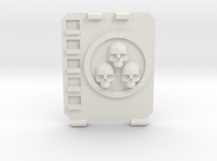 APC hatch Right [Triple skull] 3d printed